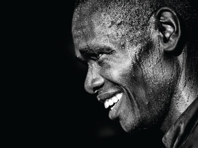 Picture of Kenyan runner