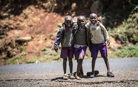 Picture of Kenyan kids